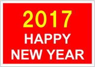 Happy_New_Year_2017のポスターテンプレート・フォーマット・雛形