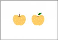 梨のフリー素材テンプレート・画像・イラスト