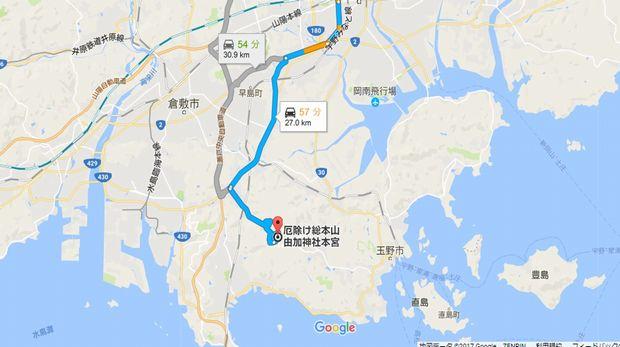 MAP(由加神社)