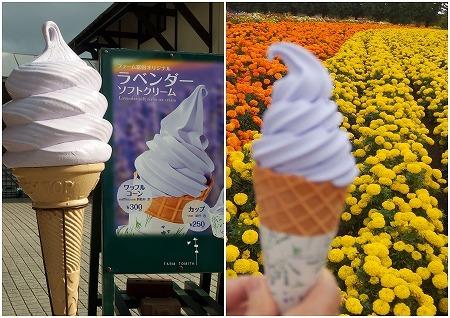 160928ファーム富田ソフトクリーム