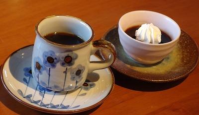161202珈琲とコーヒーゼリー