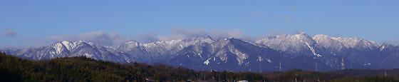 170126鈴鹿山脈