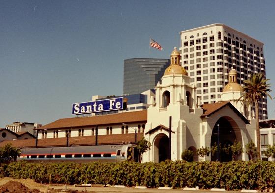 サンディエゴサンタフェ駅