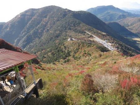 紅葉雲仙岳 112