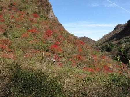 紅葉雲仙岳 236