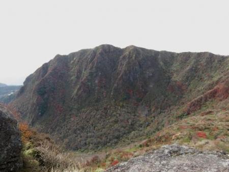 紅葉雲仙岳 350