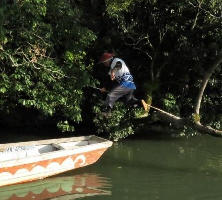 飛ぶ川下り 143