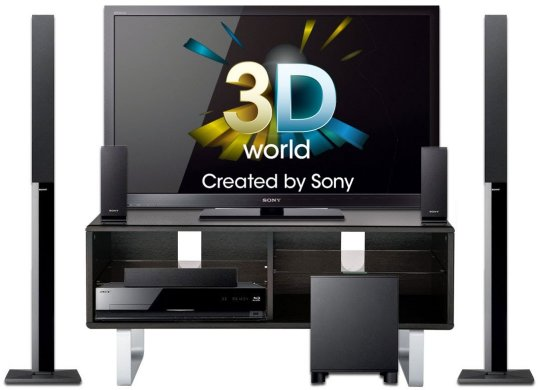 Sony 46 inch 3D TV Detailed Review
