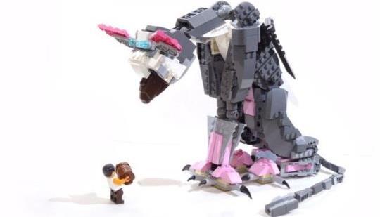 レゴ『人喰いの大鷲トリコ』セット、発売決定か!?