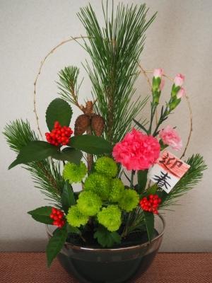 N_studiomimosa新年花