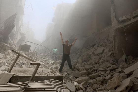 シリア、アレッポの殺戮