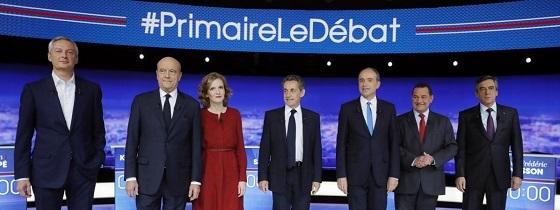 仏大統領選、予備選挙