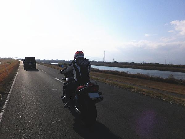 2017年 初乗りツーリング 岐阜