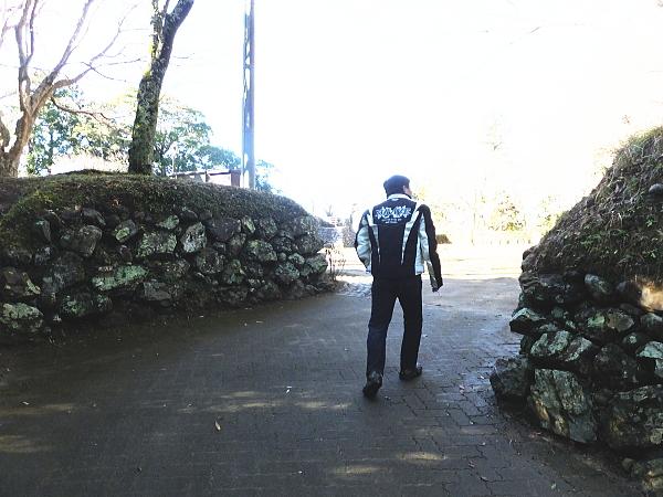 浜松 二俣城 浜松城 ツーリング8