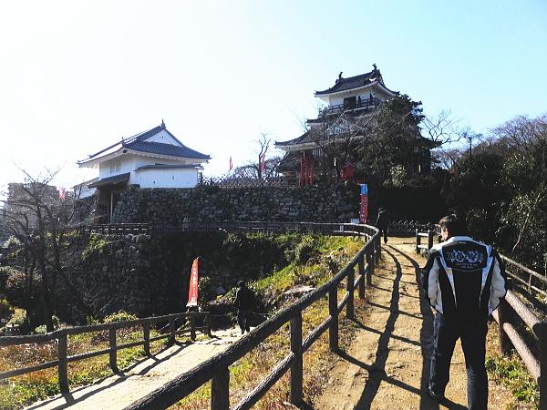 浜松 二俣城 浜松城 ツーリング