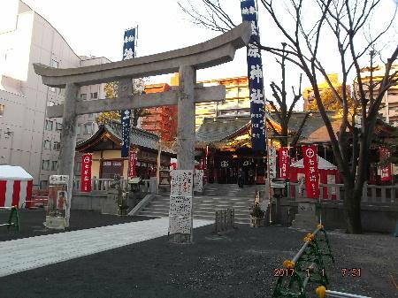 松原神社(07:51)