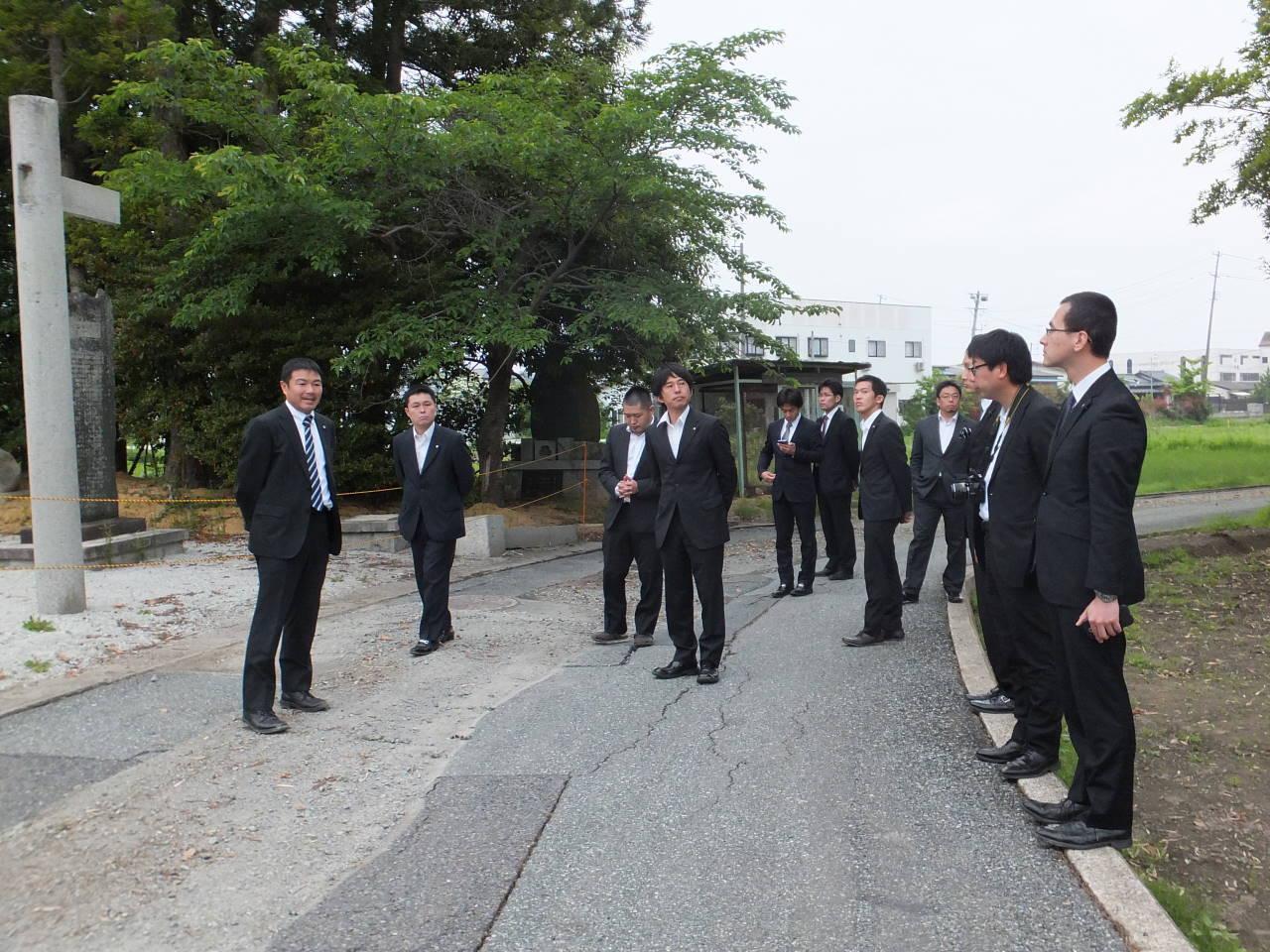 静岡県神道青年会支援活動
