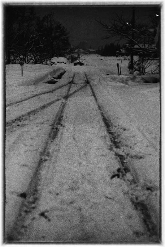日中線 熱塩駅のホーム7 1984年2月 日 16bitAdobeRGB原版take1b2