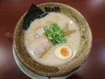 豚骨塩らーめん@越後秘蔵麺無尽蔵カリーノ江坂家