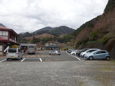 河津七滝 町営駐車場