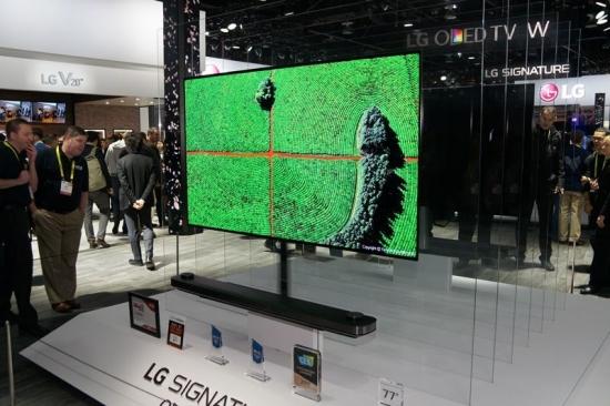 001lLG SIGNATURE OLED TV Wシリーズ