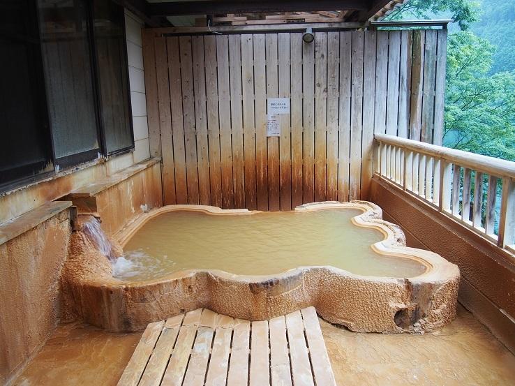 露天風呂い