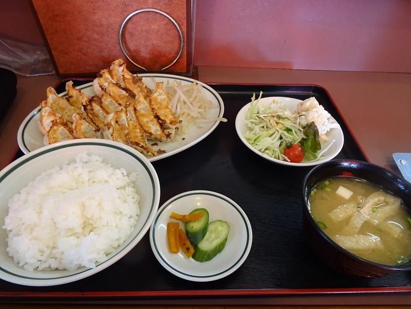餃子定食大
