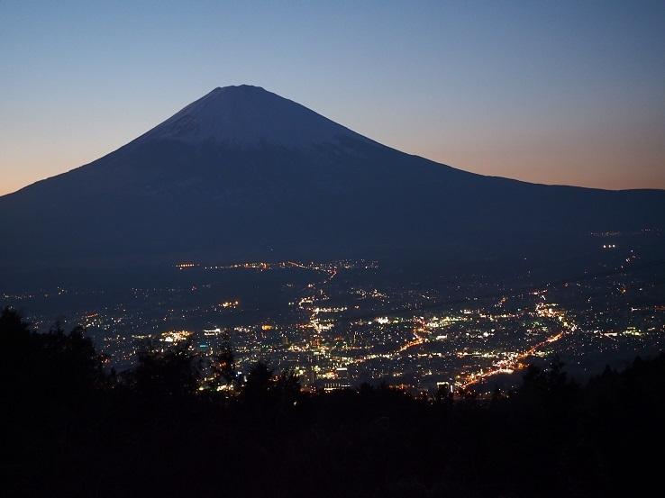 富士山夜景