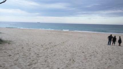 ホテル近くの海3