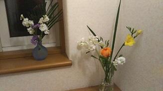 家の中花1