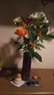 家の中花2
