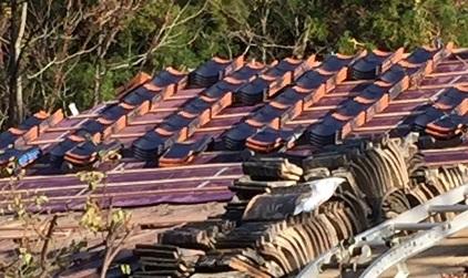 2016.11まめのま屋根工事