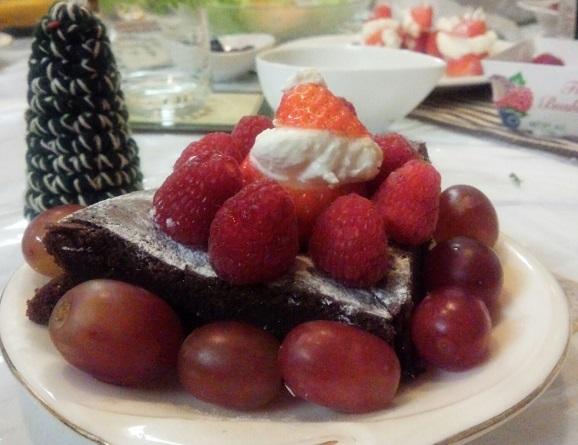 2016.12クリスマスケーキ次女