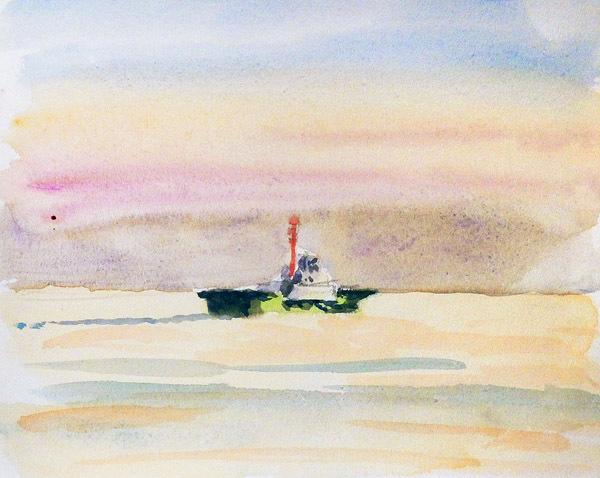 東京湾をゆく船-08