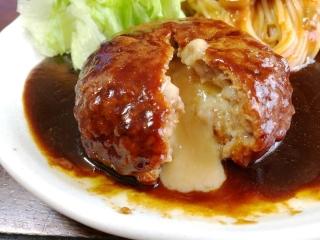 チーズインハンバーグ (2)