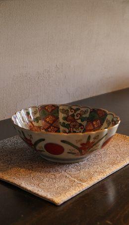 元禄色絵鉢