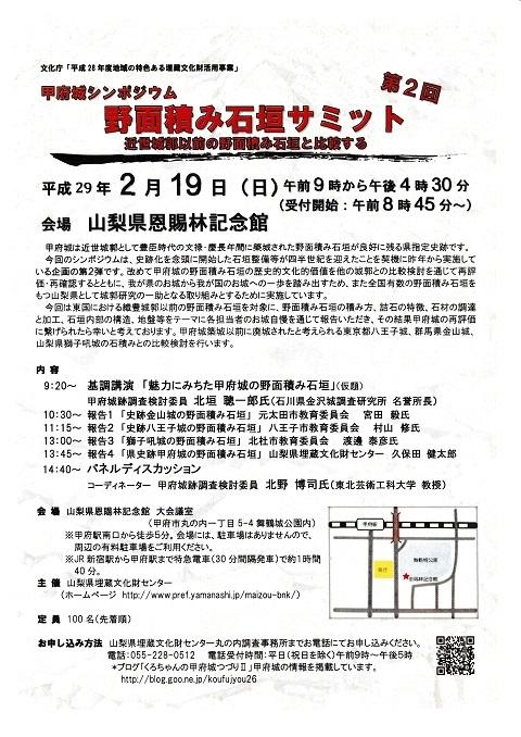 甲府城シンポⅡA