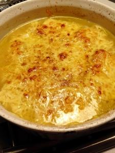 オニオン豆腐スープ