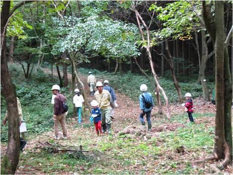カンチ安食の森・森林散策