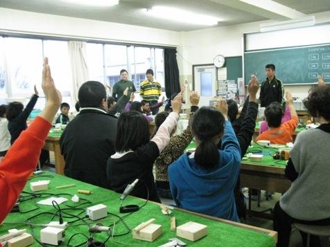 マルヤマグループ木育教室・感想