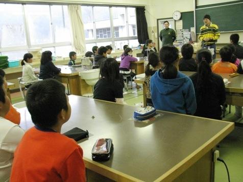 マルヤマグループ木育教室・森林保全