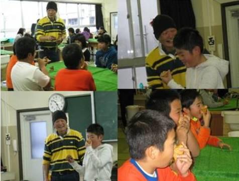マルヤマグループ木育教室・鼻笛