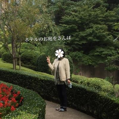 お庭で(^-^)