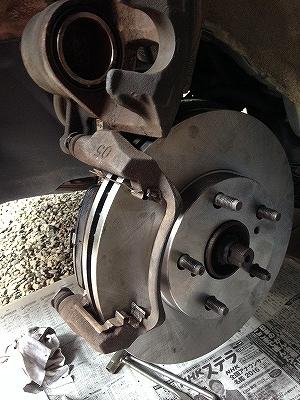 ブレーキパッド・ローター交換 (37)