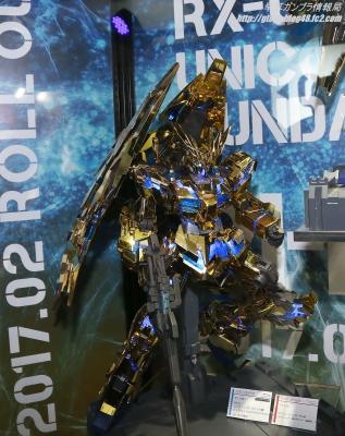 PG RX-0 ユニコーンガンダム3号機 フェネクス ガンプラEXPO ワールドツアージャパン 2016 WINTER11