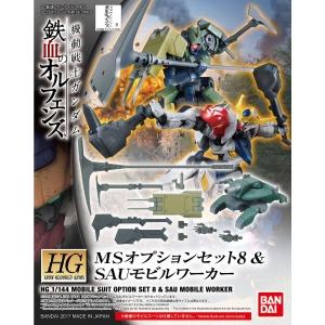 HG MSオプションセット8 SAUモビルワーカーのパッケージ(箱絵)