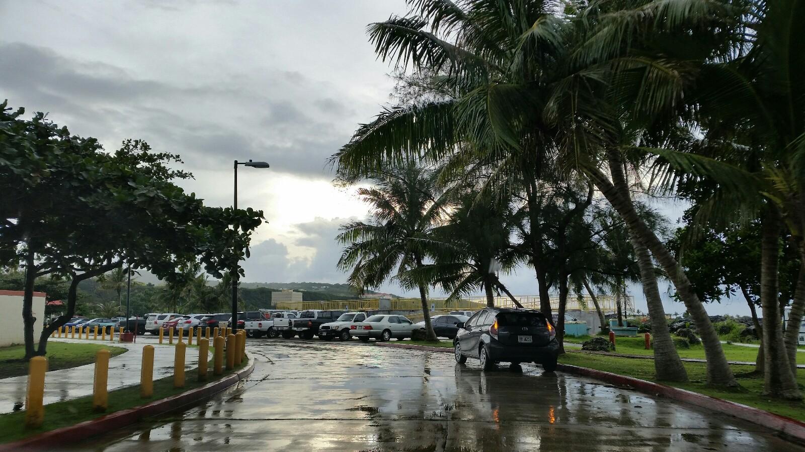 グアムパセオ公園駐車場