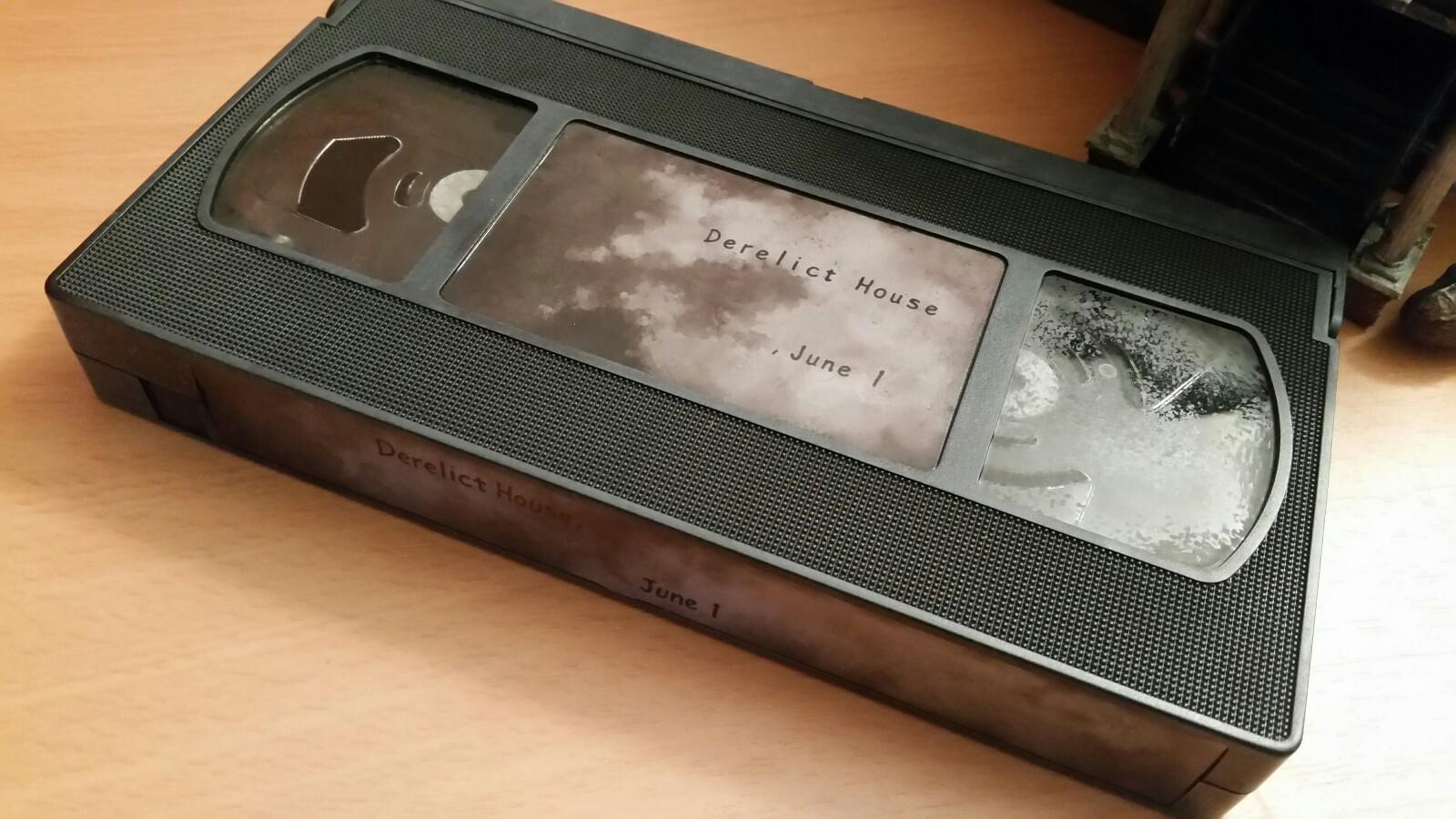 アメリカ版バイオハザード7 ResidentEvil7Collector'sEditionビデオテープ