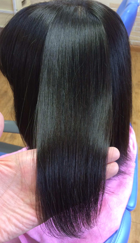 安曇野松本の秋冬の乾燥から髪を守るつやつや縮毛矯正