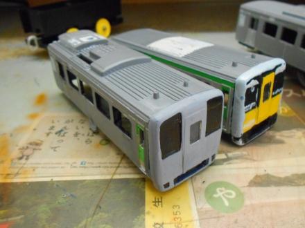改造プラレール キハ187系スーパーおき制作記 その5